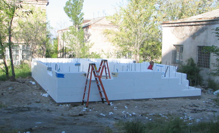 Link to ICF buildings systems