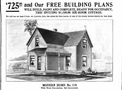 Link to Historic Prefab: Sears Homes