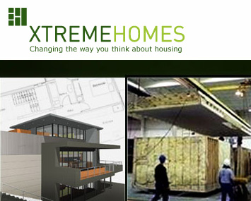 Link to XtremeHomes: modular building the green way