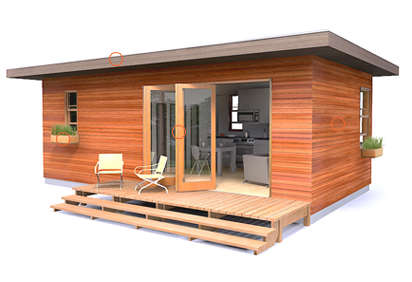 Prefab and modular homes available 1 bedroom prefabcosm for One bedroom home kits