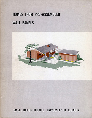 Link to Historic prefab: pre-assembled wall panels
