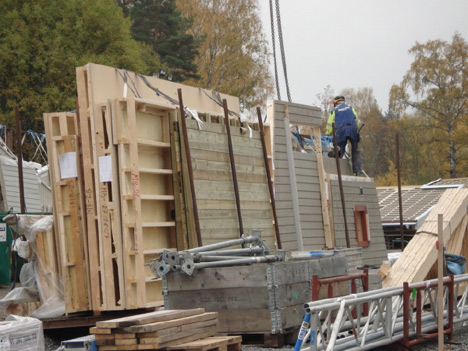 Link to How prefab homes are built in Sweden