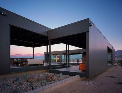 Link to Tour the Marmol Radziner Desert House before it's sold