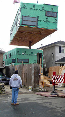 Link to Building a prefab in New York City