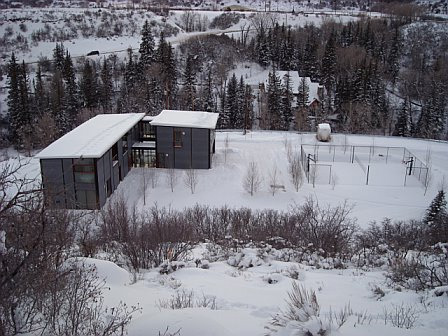 Link to Flatpak house in Aspen