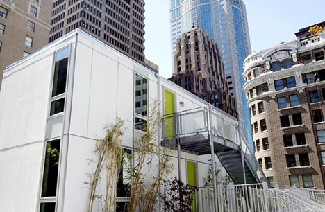 Link to Prefab apartments to make downtown Seattle affordable?