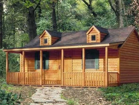 Link to Spirit Cabins - modular cabins and log homes