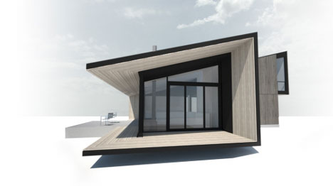 Link to Flat pack cabins from Form & Forest