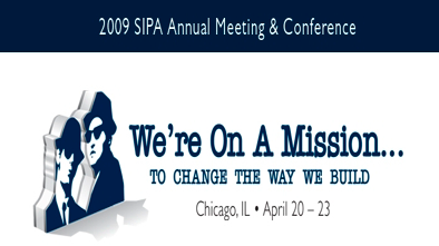 Link to SIPA Annual Conference in Chicago: April 20-23, 2009