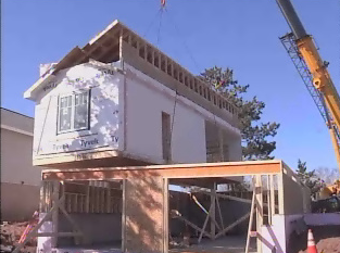 Link to Installation of modular home makes news in Duluth, MN