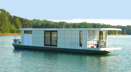 Link to MetroShip: a prefab houseboat