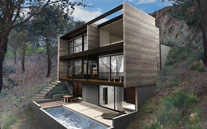 Link to Hollywood Hybrid by Marmol Radziner Prefab
