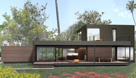 Link to Haven Custom Homes and Marmol Radziner Prefab