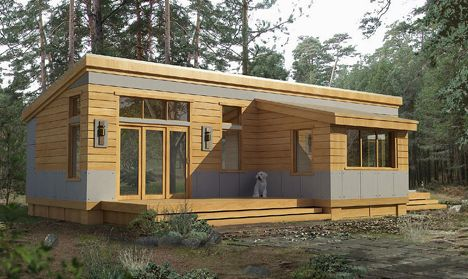 Prefab and modular homes available 100k 199k for Build a house for 100k