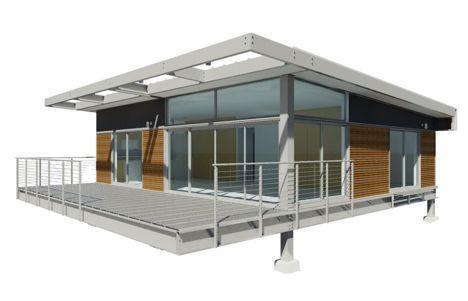 2 bedrooms 1000 square feet prototype
