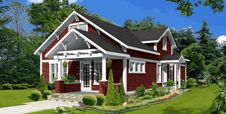 Prefab and modular homes available 2 000 2 999 sf for Bungalow style modular homes